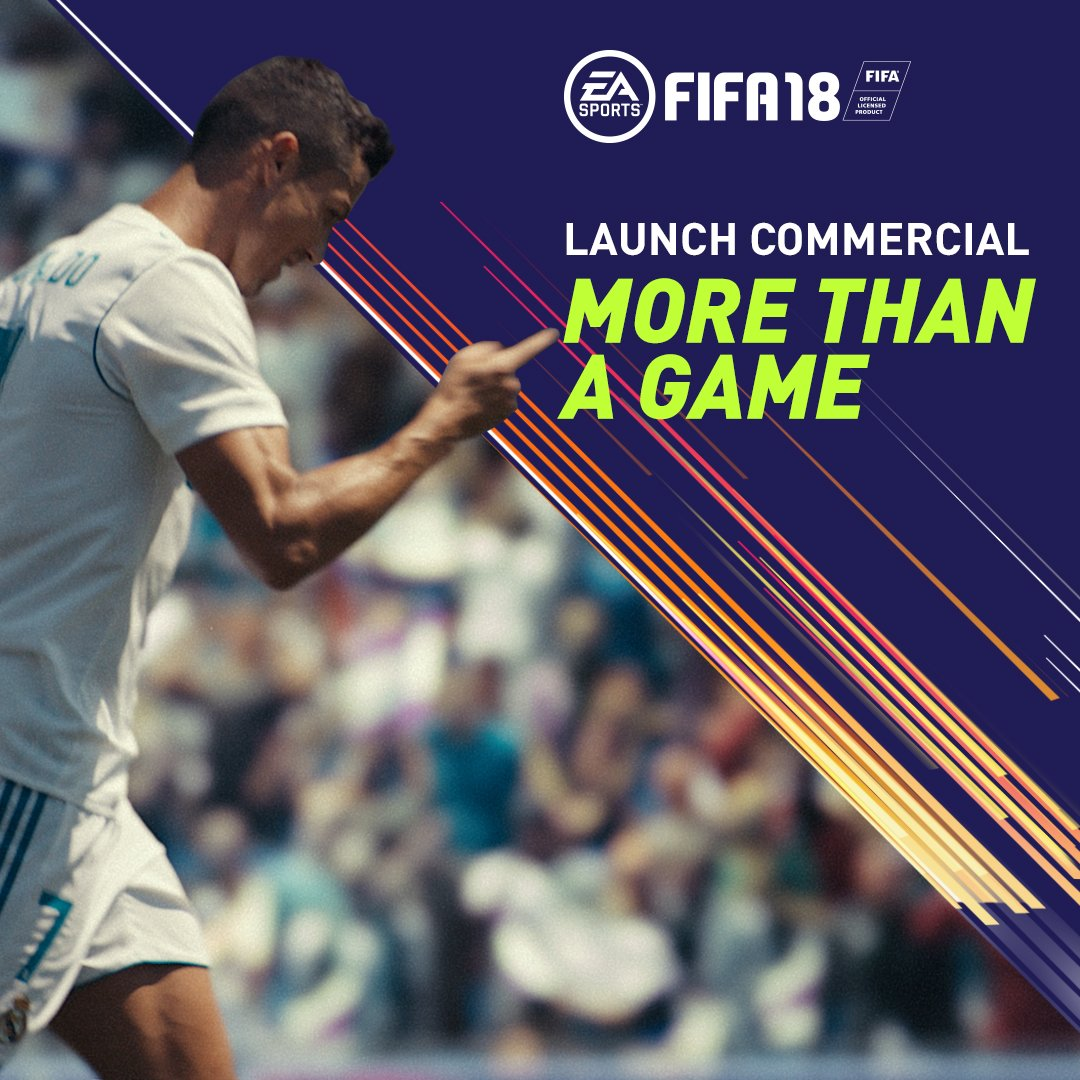 #FIFA18 | More Than A Game. https://t.co/kmmyU2G4gd https://t.co/wIvEMWaU1W