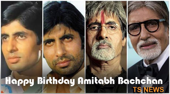 Wishing a Happy Birthday to Megastar Amitabh Bachchan