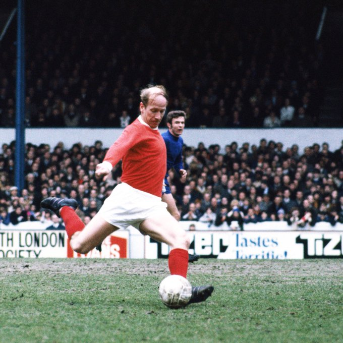 A true gentlemen on and off the field armed with a thunderbolt of a shot.  Happy Birthday Sir Bobby Charlton