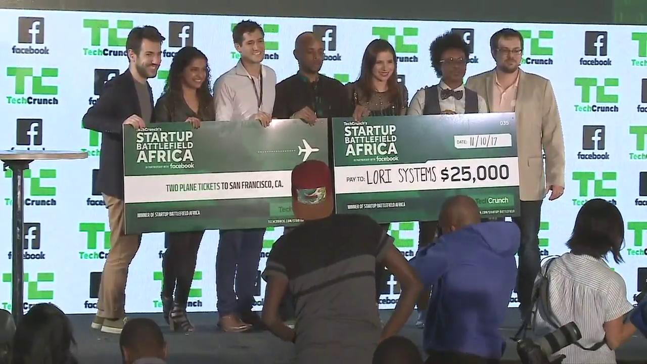 And the winners of Startup Battlefield Africa 2017 are...https://t.co/Bu3fLdvjHz #TCBattlefield https://t.co/LLFekBZaSZ
