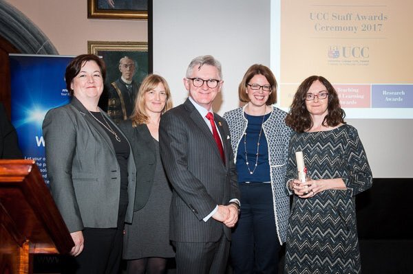 test Twitter Media - On #internationaldayofthegirl congrats to Dr Carol Linehan & GENOVATE team. @ucc Research Team of the Year 2017 for work on gender equality. https://t.co/8kbDd3JoRm