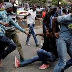 Violence erupts in Kenya over new election law