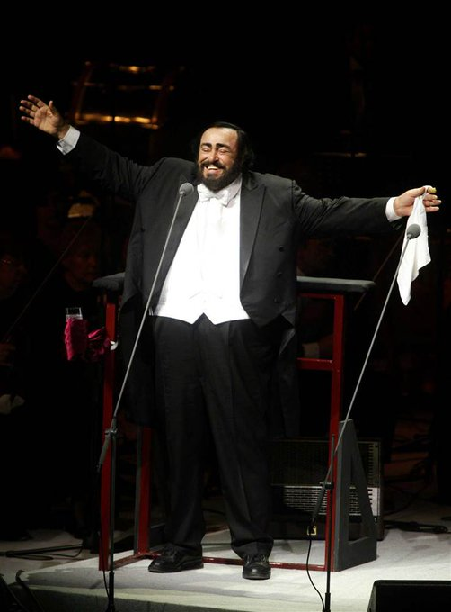 Happy Birthday to Luciano Pavarotti, who would have turned 82 today!