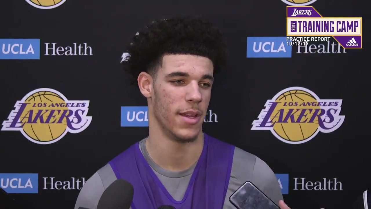 �� Lonzo Ball gives some insight into how his ankle feels after rejoining practice today. https://t.co/3FgKe2FSyG