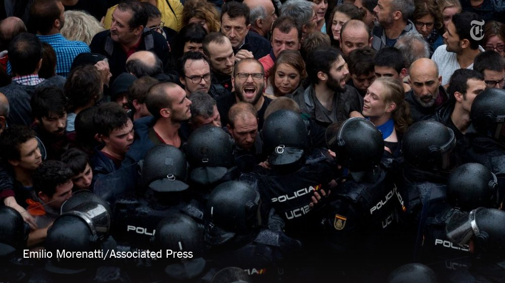The Catalan situation has put the EU and its members in an awkward position https://t.co/qcwPEnBi6I https://t.co/cwgivfCaBh