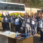 Matatu drivers gather for a word of prayer ahead of the October 26, election (photos)