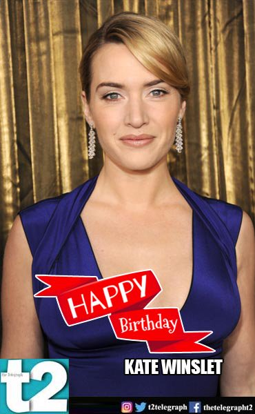 T2 wishes a very happy birthday to the super cool and super talented Kate Winslet. What\s your fave Winslet act?