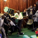 Comedian TREVOH NOAH's hilarious break down of epic Ugandan parliament fight (VIDEO)