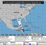 Tropical Storm Nate forms; track shifts west toward Louisiana with landfalling hurricane possible