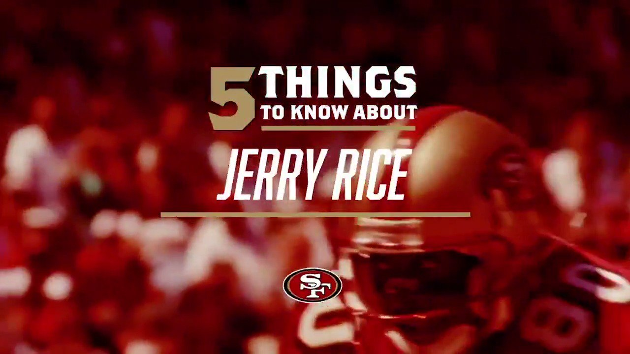 ���� things to know about the birthday guy @JerryRice! �� https://t.co/reF1GIk5K5