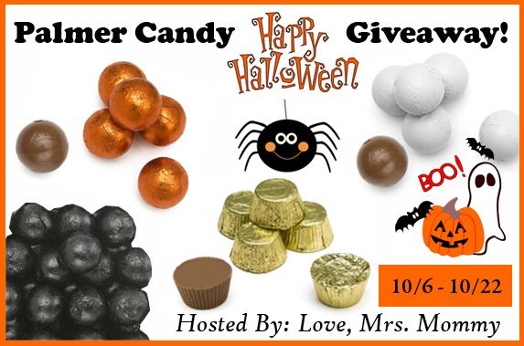 RM Palmer's Happy Halloween Candy Giveaway!
