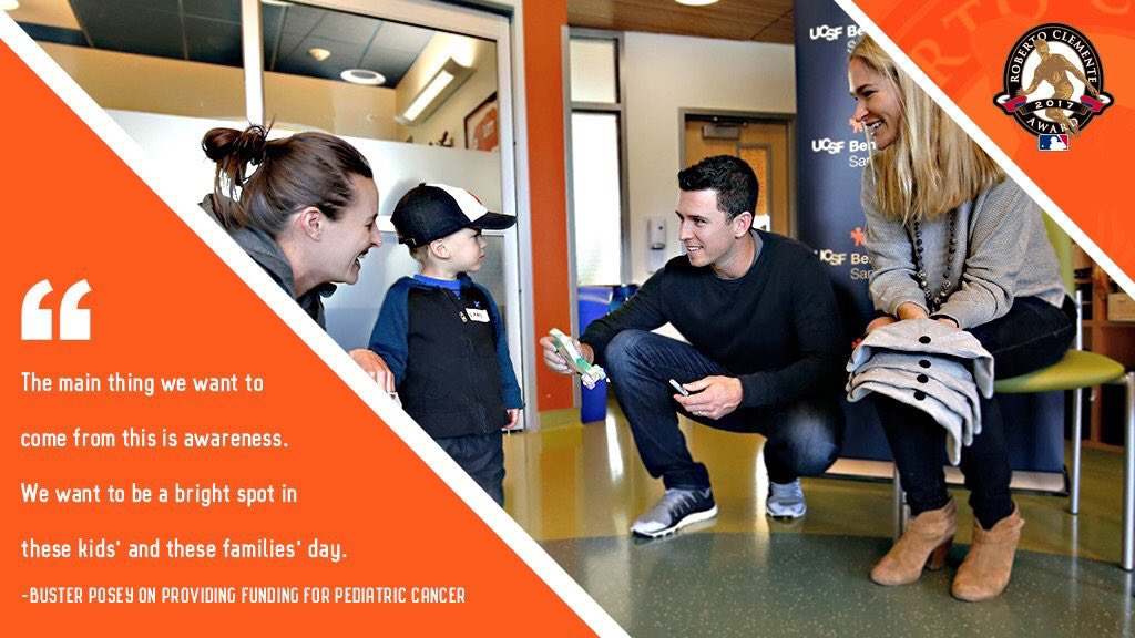 Last day to vote Buster for the 2017 Roberto Clemente Award.  ☑️ https://t.co/CNKqMlw0IS   #SFGiants https://t.co/T0sfTcZs4A
