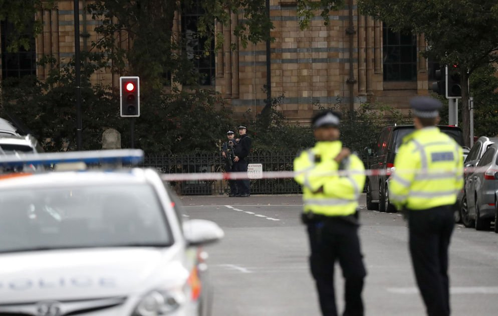 London police: Car accident that injured 11 outside museum is not terror attack