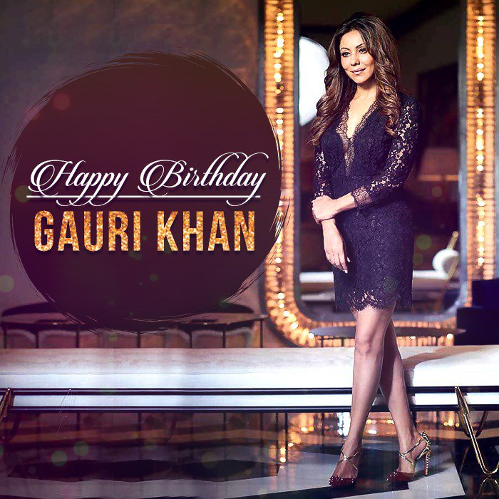 An epitome of elegance and grace, she is an inspiration to many! Wishing @gaurikhan a very happy birthday... https://t.co/66kHRDoTKD