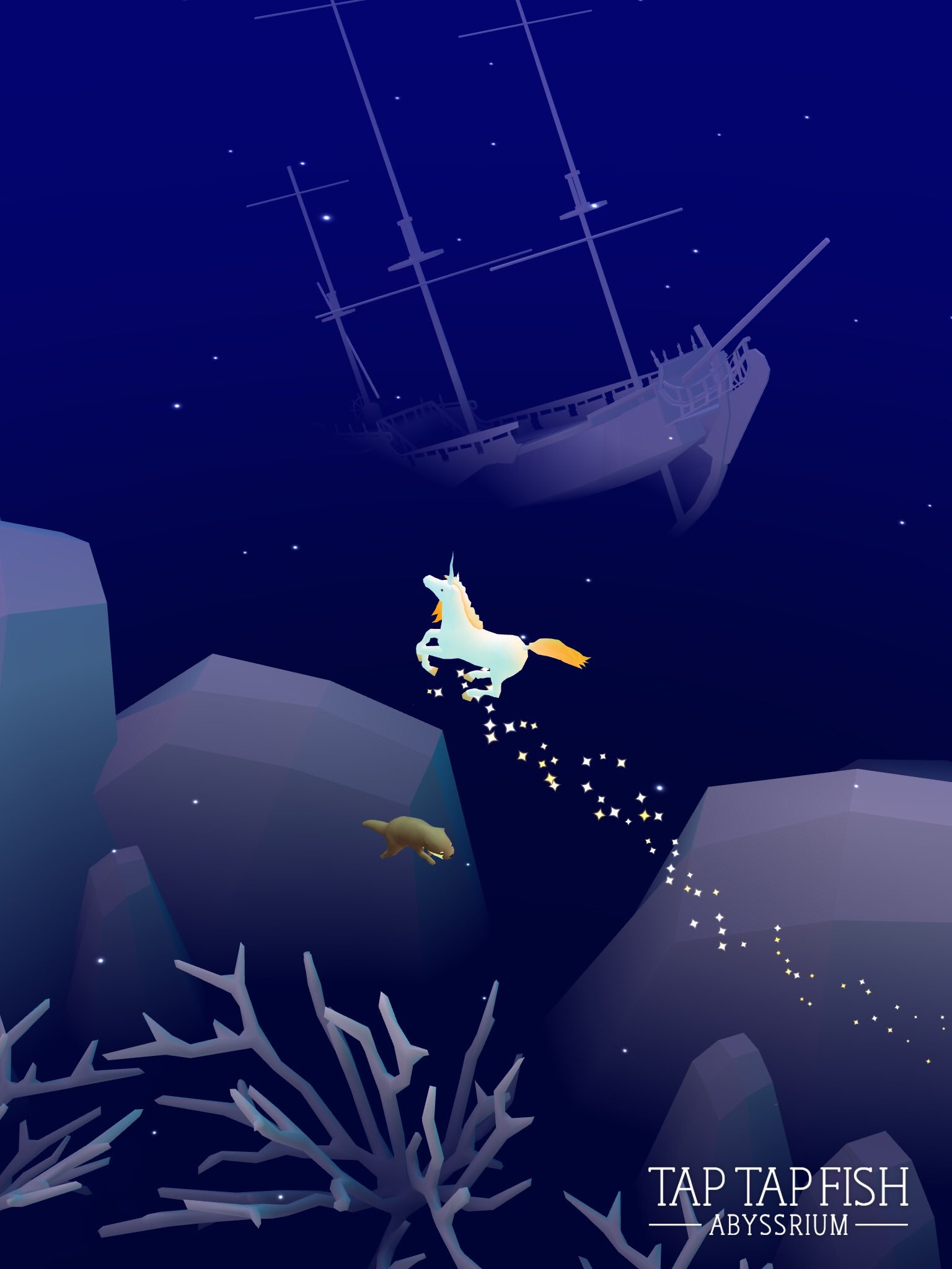 My Fall night unicorn:)  #taptapfish Download: https://t.co/jKNmJ7eMxr https://t.co/oxV0xX6Olo