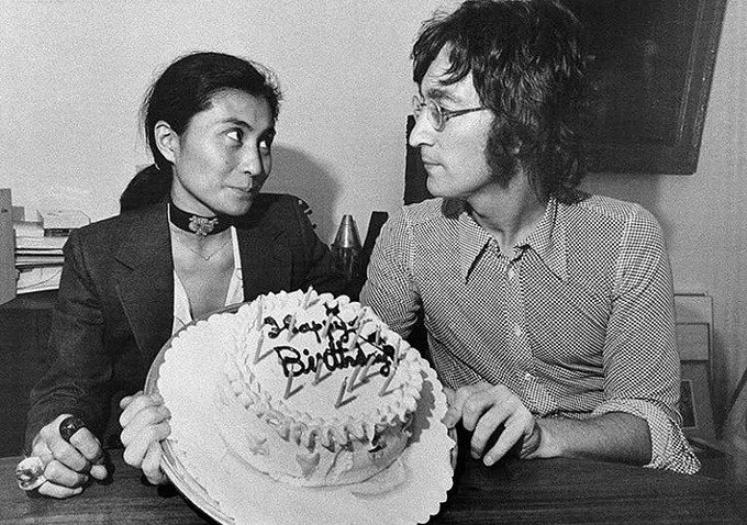 Happy Birthday to my beautiful boy John Lennon, to my Lennon in the sky with diamonds