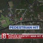 Pedestrian fatally struck by car in New Hartford - Dauer: 23 Sekunden