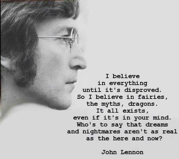 Happy birthday, John Lennon, on what would have been your 77th birthday.