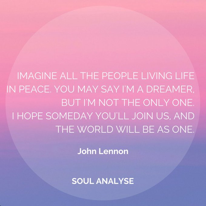 Happy Birthday John Lennon - the greatest peace warrior of our time!
