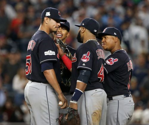 MLB:Playoffs>Cleveland Indians let New York Yankees back up off th.. https://t.co/6EuG6iUQjX #sport https://t.co/NC64z0nVEJ
