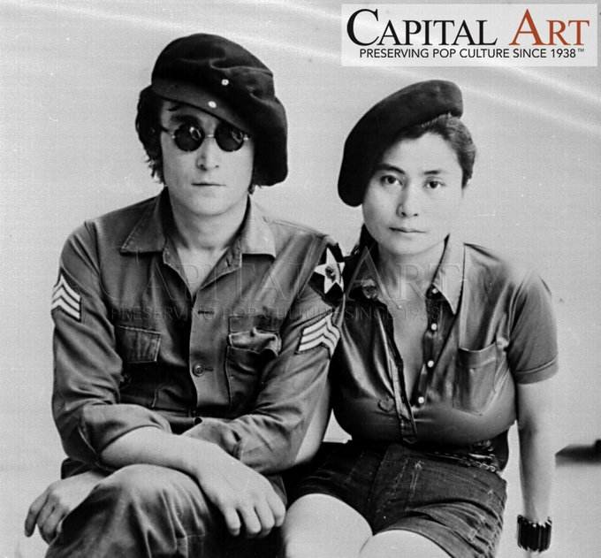 Happy 77th birthday, John Lennon! Enter the vault: