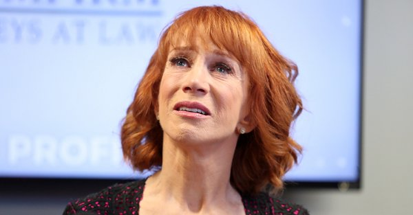 Kathy Griffin makes her comedy comeback wearing a Trump mask
