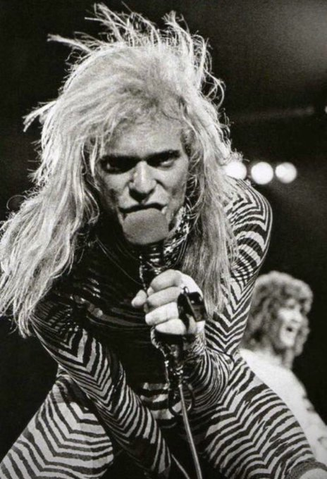 Happy Birthday DAVID LEE ROTH! The only one to show the rest how it\s done.
