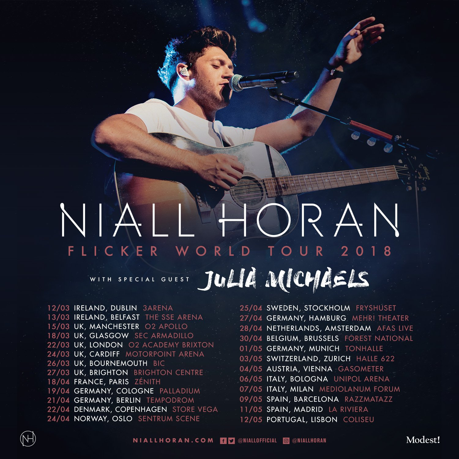 UK, Ireland & Europe , tickets to the Flicker World Tour are on general sale now !  https://t.co/n0M7qWZdtf https://t.co/Jp7KmOIf1J