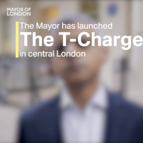 I've introduced the T-Charge, the world's toughest emission standard, to help cut toxic air pollution #CleanAir https://t.co/o8CdJetkzu