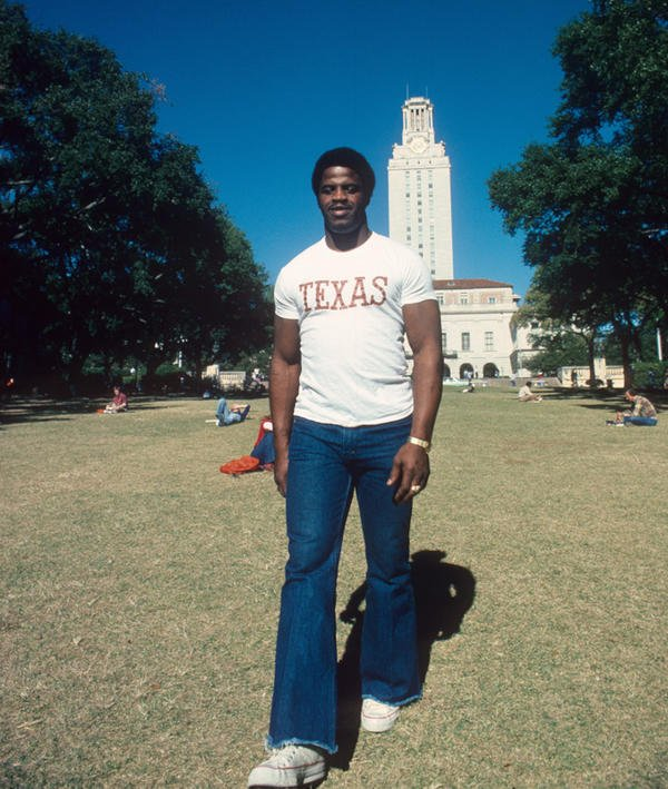 Earl Campbell, University of Texas, Dec. 1977 https://t.co/MVjHITVQwJ