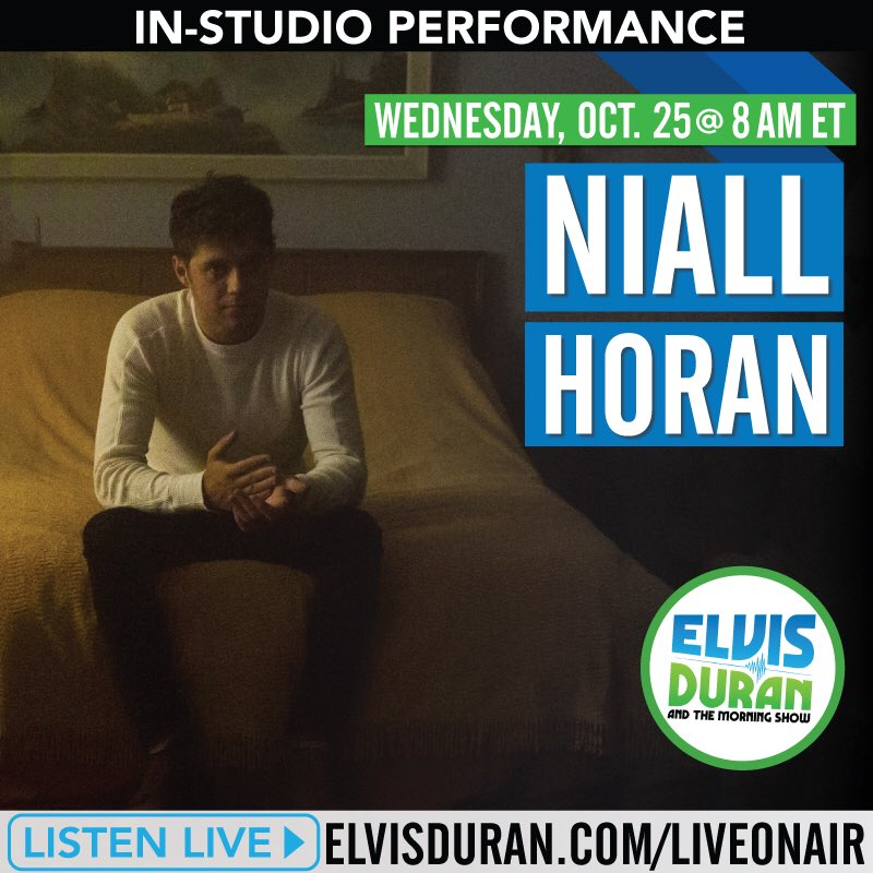 I'll be talking to @elvisduran & performing on the  @elvisduranshow tomorrow morning . Make sure ya tune in ! https://t.co/ylpma3vIZB