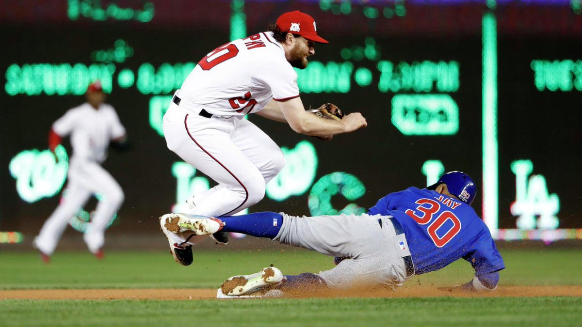 Wild Game 5 win sends Cubs to NLCS https://t.co/jyZW3Y47Ur https://t.co/jtKyp6AFAo