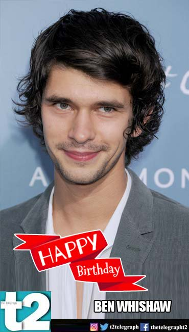 He s cute, he\s charming, he\s Q! t2 wishes a very happy birthday to Bond man Ben Whishaw.