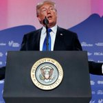 Trump touts support for conservative religious groups