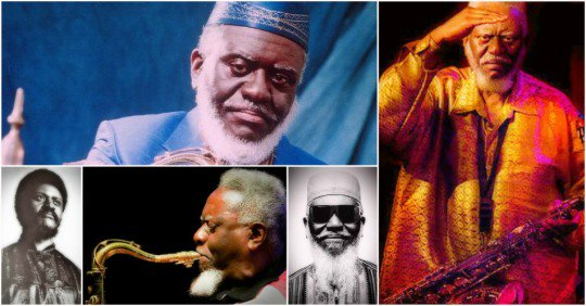 Happy Birthday to Pharoah Sanders (born October 13, 1940)