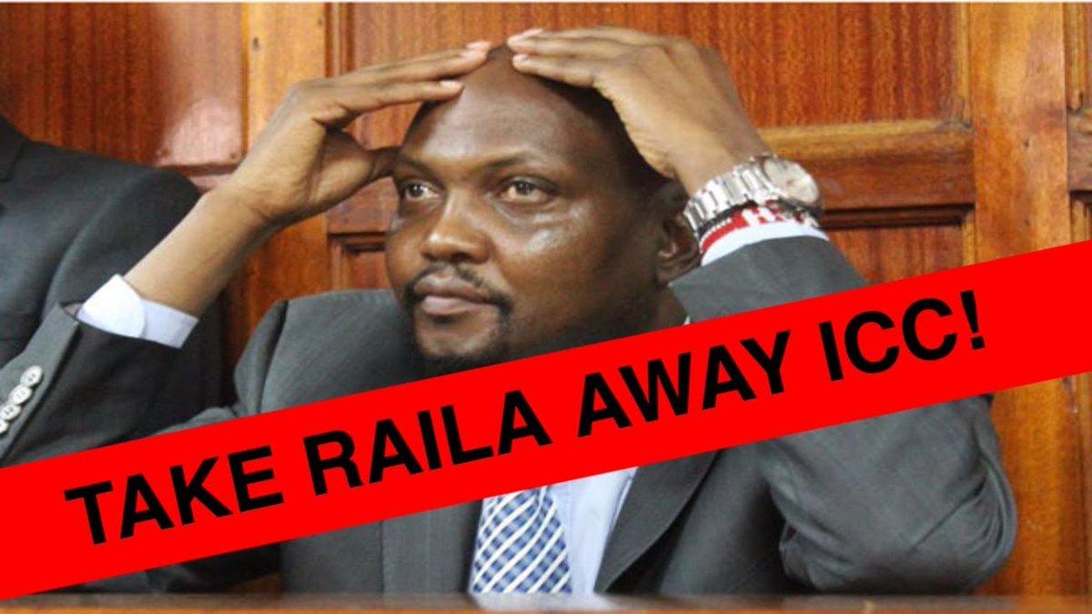 MOSES KURIA BEGGING ICC TO TAKE RAILA AWAY - HE IS HEADING TO NO GOOD   kenya news