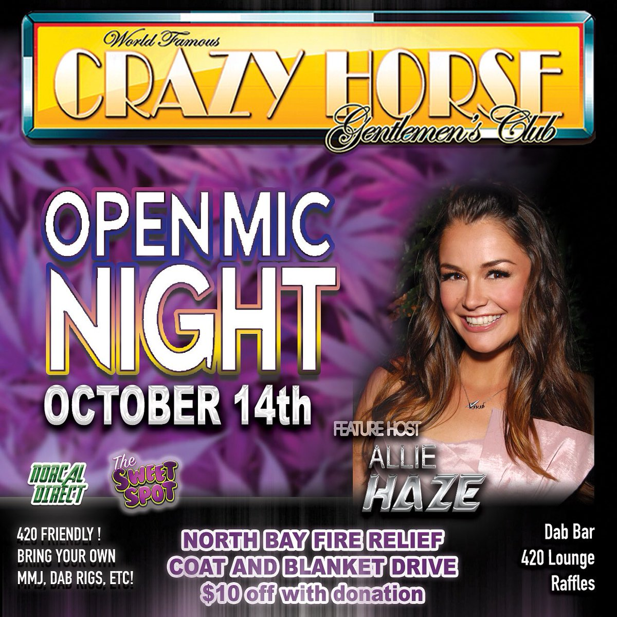 2 pic. Last night here in #SanFrancisco !!! Get to the Crazy Horse so much fun stuff #comedy /