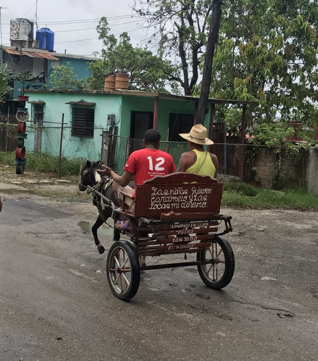 test Twitter Media - In Cuba, if you don't own an old car, you likely travel by horse, horse and buggy, or motorcycle.  But that doesn't seem to stop people. https://t.co/LTCAsf6ww2