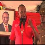 President Kenyatta, DP Ruto hold rallies in Garissa, Kitui and Machakos