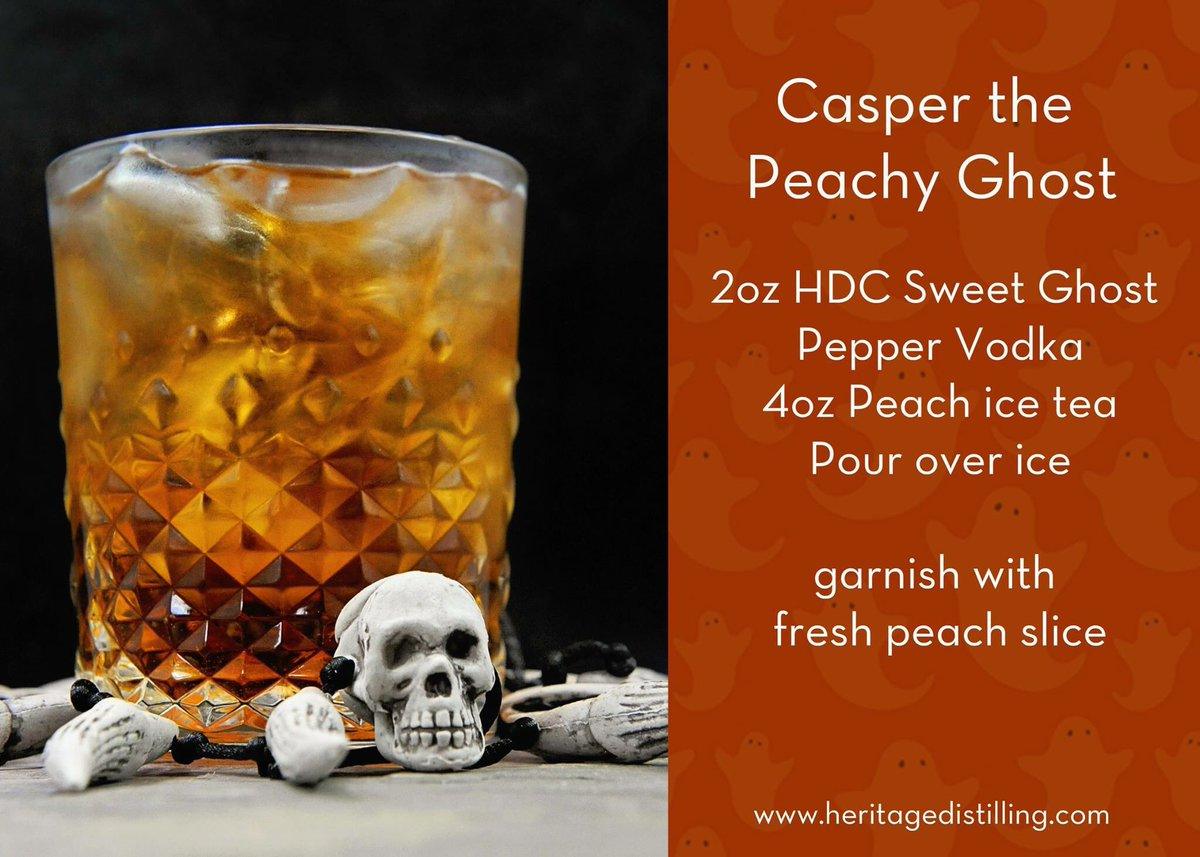 test Twitter Media - This ghost is a little bit spicy and a whole lot delicious! And for sure needs to be at your Halloween party! #HeritageDistilling #Cocktails https://t.co/BpsyrHhNCA