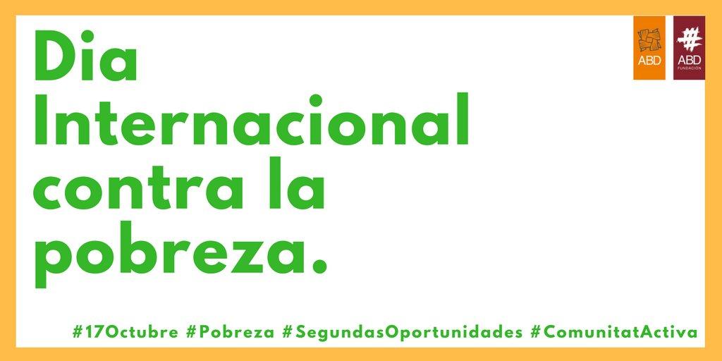 provar Twitter Mitjans - 📆📌Seguimos trabajando para que no tengamos que celebrar este día. #DíaInternacional #ErradicaciónPobreza  #17Oct #SaveEurope #FelizMartes https://t.co/b21xYEaOO1