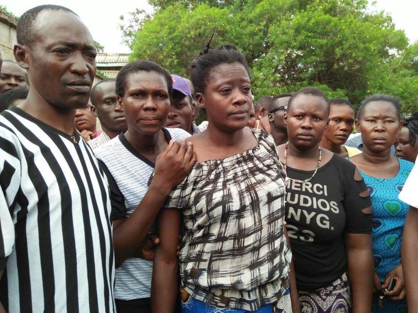 [VIDEO] Student killed in Kondele demos, residents claim cops retrieved bullet