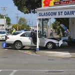 Medical event causes two-car crash