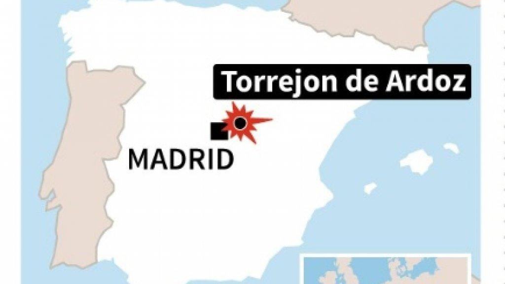 Pilot dead as F18 military plane crashes near Madrid