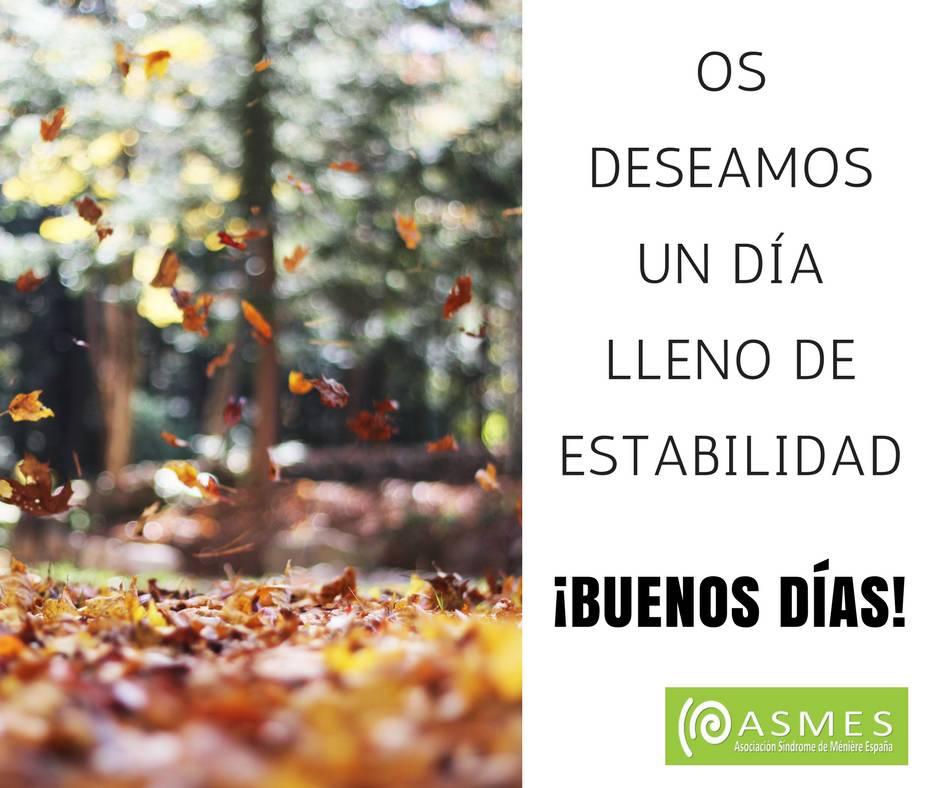RT @ASMES2016: #felizmiercoles y #buenosdias #meniere #hipoacusia #concienciación #acufenos #vertigos https://t.co/kvpxYww988