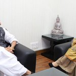J-K CM Mufti meets Rajnath amid spurt in violence in Kashmir Valley
