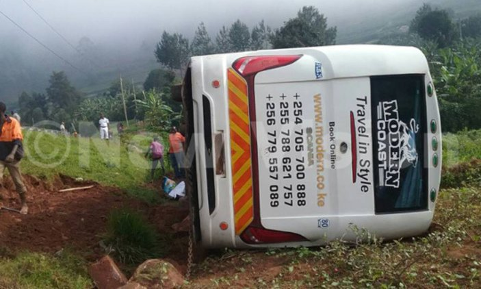 Bus accident claims two in Kabale