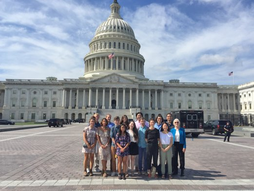 test Twitter Media - Students in Oceans and Climate course travel to Washington, DC to learn about climate change legislation. @NOAA https://t.co/jopgzG0C4F https://t.co/7YlTCIngIh