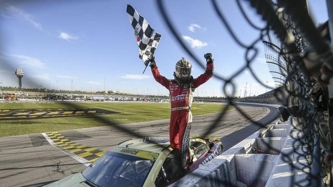 Kevin Harvick hopes to repeat history at Kansas Speedway