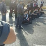 120 draft protestors arrested in 'day of rage'
